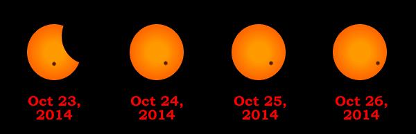 Eclipse2014Sunspot